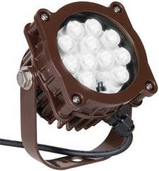brown led dock light lights lighting docklight brown color 16 watt