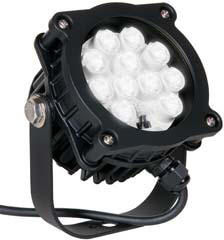 black color led 16 watt dock light lights lighting docklight spot flood