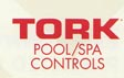 tork pool spa controls