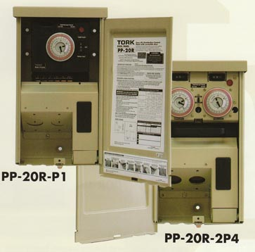 tork pool spa control panel with time switch pp-20r-p1 pp-20r-2p4