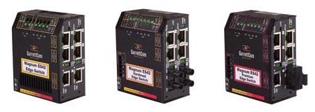 IndustrialNet 8-Port DIN Rail Mount Fiber Patching